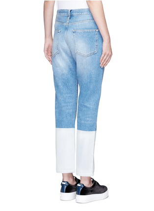 Back View - Click To Enlarge - PORTS 1961 - Dipped hem whiskered jeans