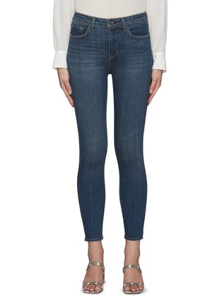 Main View - Click To Enlarge - L'AGENCE - The Margot' cropped skinny pants