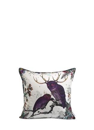 Figure View - Click To Enlarge - Kristjana S Williams - Twin Owl cotton cushion