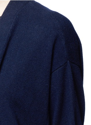 Detail View - Click To Enlarge - Vince - Short sleeve cashmere cardigan
