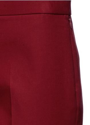 Detail View - Click To Enlarge - The Row - 'Seloc' cotton satin cropped pants
