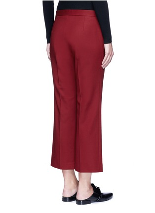 Back View - Click To Enlarge - The Row - 'Seloc' cotton satin cropped pants