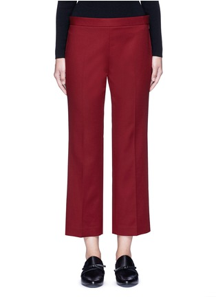 Main View - Click To Enlarge - The Row - 'Seloc' cotton satin cropped pants