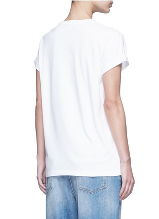 Back View - Click To Enlarge - Stella McCartney - Dotted cat print cotton T-shirt
