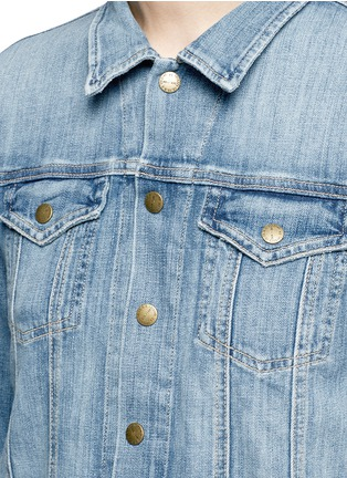Detail View - Click To Enlarge - Current/Elliott - 'The Mechanic' denim jacket