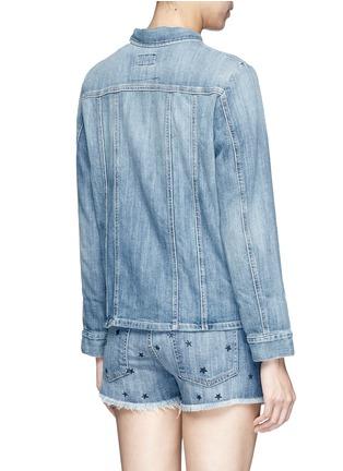 Back View - Click To Enlarge - Current/Elliott - 'The Mechanic' denim jacket