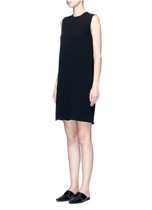 Front View - Click To Enlarge - Vince - Pleat back sleeveless shift dress