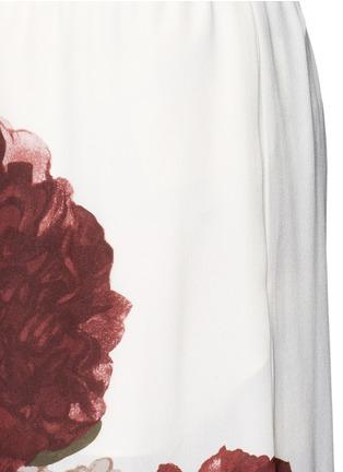 Detail View - Click To Enlarge - Valentino - Floral print silk pyjama pants