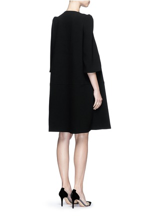 Back View - Click To Enlarge - Co - Gathered crepe jacket