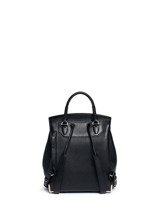 Back View - Click To Enlarge - Alexander Wang  - 'Prisma' skeletal hardware constrast leather backpack