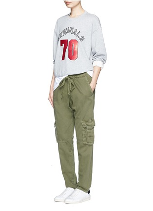 Figure View - Click To Enlarge - Mo&Co. - 'ORIGINALS 70' sequin embellished sweatshirt