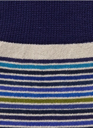 Detail View - Click To Enlarge - Paul Smith - Variegated stripe socks