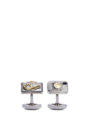 Main View - Click To Enlarge - Paul Smith - Camera and suitcase cufflinks
