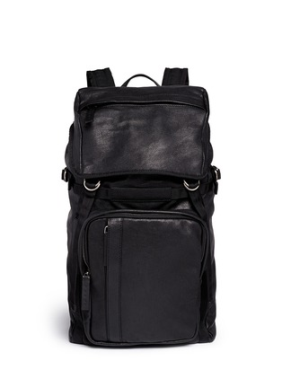 Main View - Click To Enlarge - Marni - Nappa leather backpack
