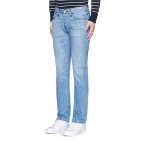 3X1 'M4' LOW RISE STRAIGHT LEG JEANS